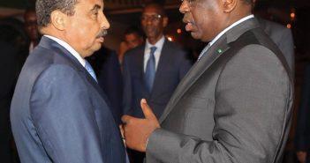 les presidents Mohamed Ould Abdelaziz et Macky Sall