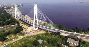 pont haubané de Brazzaville
