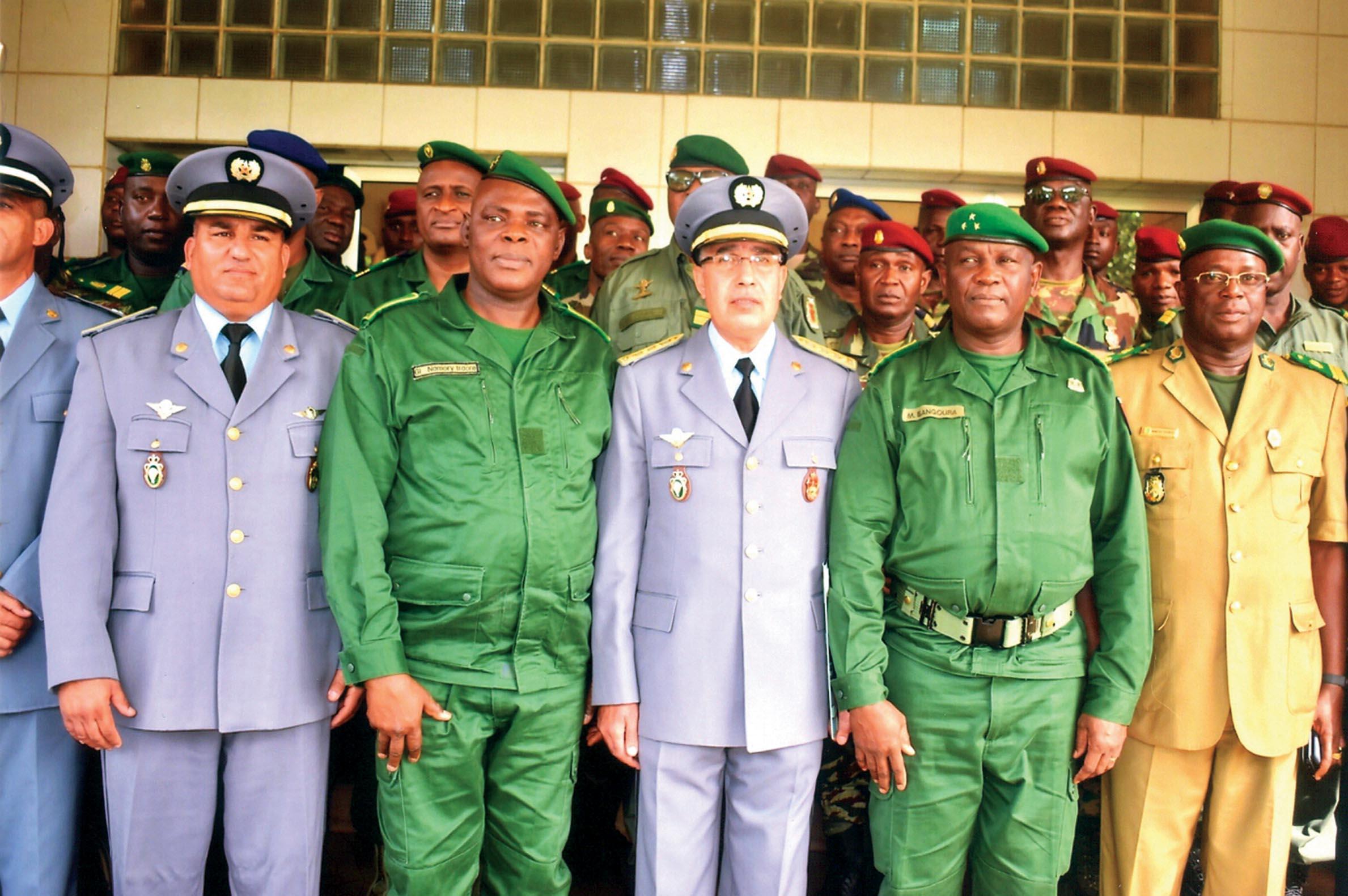 Coopération avce la Guinée Conakry A-Arm%C3%A9e.-Maroc-Guin%C3%A9e