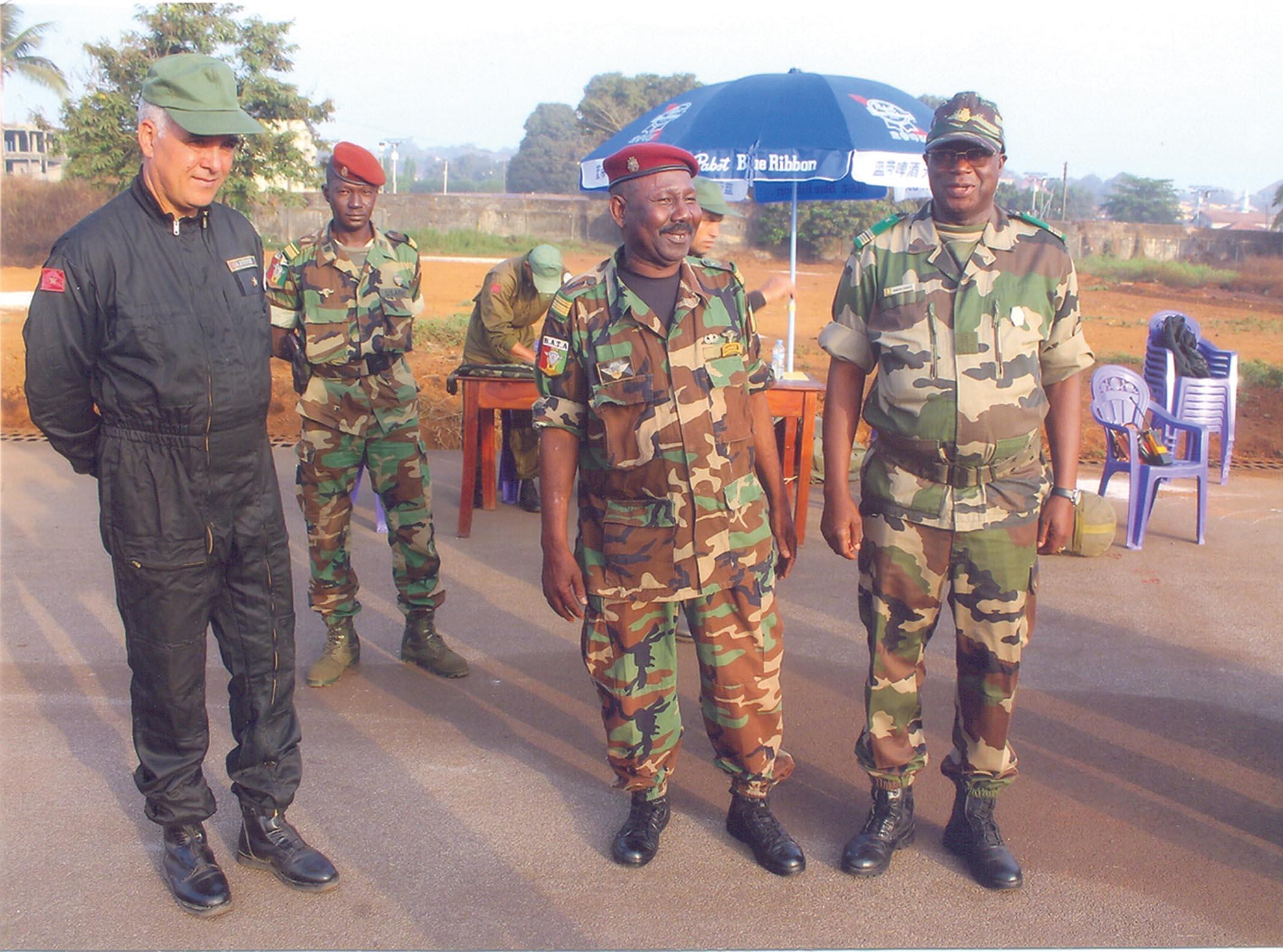 Coopération avce la Guinée Conakry A-Force-africaine-en-attente