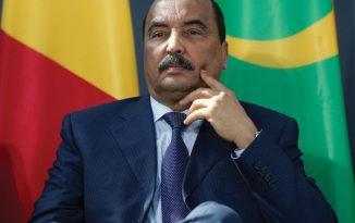 Mohamed Ould Abdelaziz, président de la Mauritanie