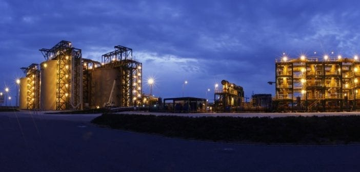 Station terminale du slurry pipeline OCP-Jorf Lasfar