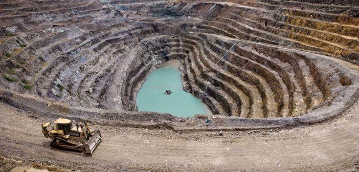 La Gécamines, mine à ciel ouvert