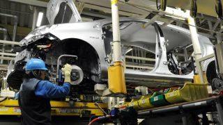 Une usine de construction automobile en Afrique du sud