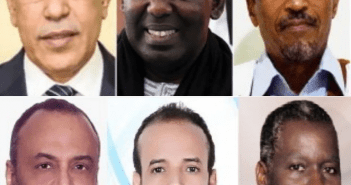 6 candidats mauritanie