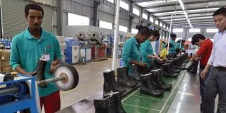 Industrie de la chaussure en Ethiopie