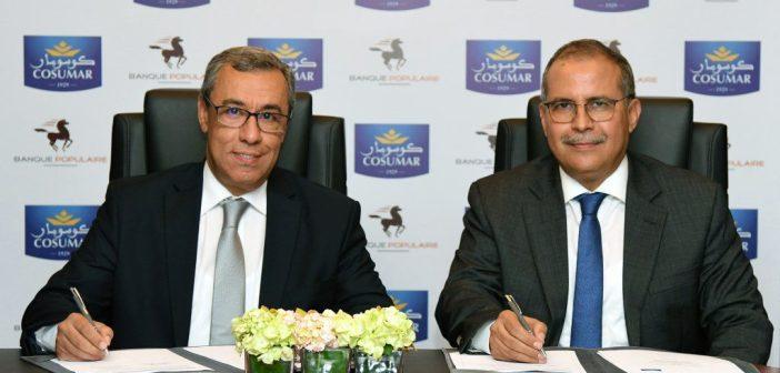 Mohamed Karim Mounir, Président du Groupe Banque Populaire, et Mohamed Fikrat, PDG de COSUMAR