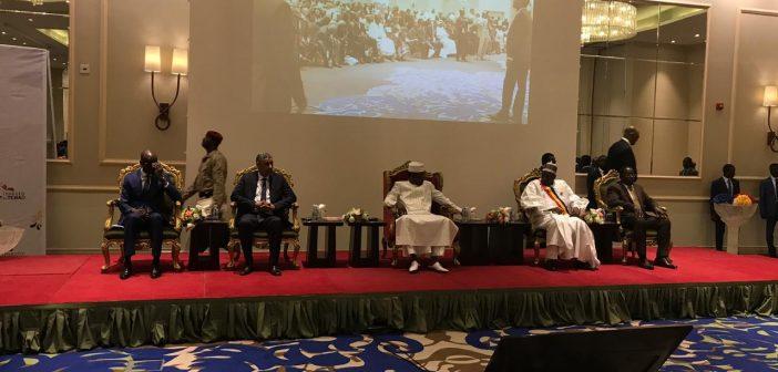 Ouverture par le Président Idriss Deby Itno du Forum économique international d'investissements Tchad-Monde Arabe