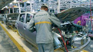 Usine Renault Nissan à Tanger au Maroc