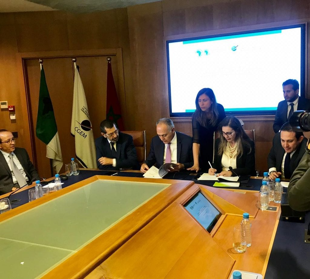 La cérémonie de signature a eu lieu au siège de la CGEM ce vendredi 21 juin 2019.