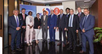 Walid Loukil ( au milieu), Directeur général-adjoint d'UADH