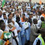 Manifestation post-électorale en Mauritanie