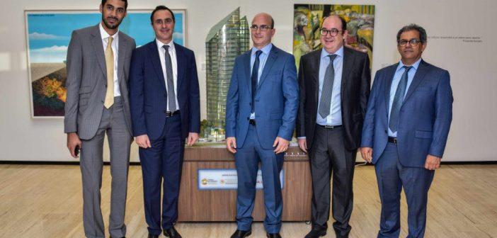 Le management du Groupe Alliances lors de la conférence de presse de ce 27 septembre 2019