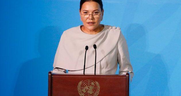 La Princesse Lalla Hasnaa a représenté le Roi Mohammed VI et lu un discours à l'ouverture du sommet Action Climat 2019.