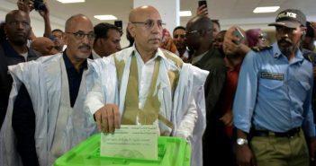 Mohamed Ould Ghazouani, Président de la Mauritanie