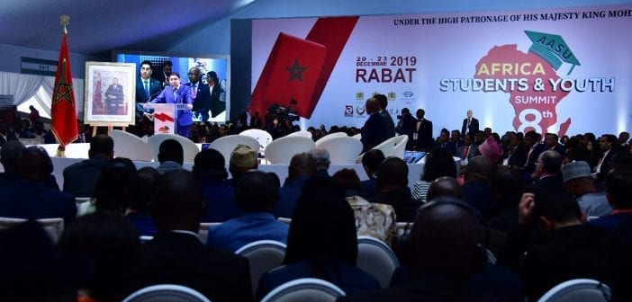 8eme édition du sommet des Étudiants et de la Jeunesse d'Afrique 3
