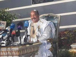 president mauritanie