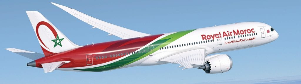 Dreamliner de Royal Air Maroc