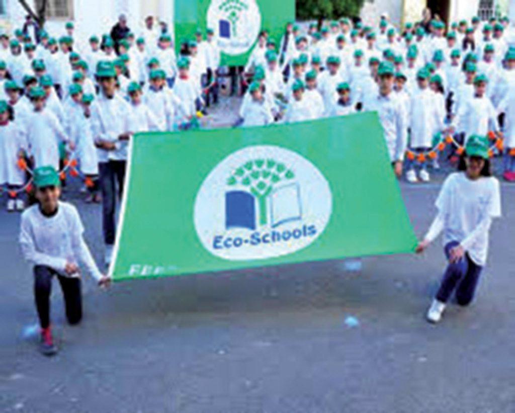 Fondation Banque populaire a mis en place un programme Éco-Schools