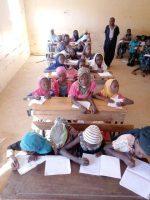 Une classe de l'école de Dar Naim (Aleg)