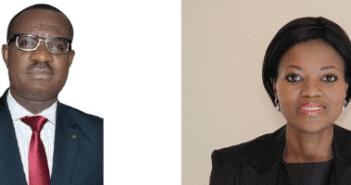 Le Dr Georges Agyekum Nana Donkor et Mme Zanele Monnakgotla