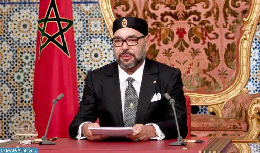 SM le Roi adresse un discours à la nation à l'occasion du 65è anniversaire de la Révolution du Roi et du Peuple_NC