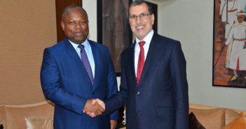 Alain Ebobissé, Directeur général d'Africa50 et le Premier ministre marocain