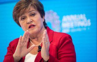 Kristalina Georgieva, la Directrice générale du FMI.