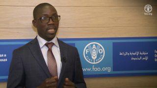 Noël Koutéra Bataka, ministre de l'Agriculture, de la production animale et halieutique du Togo