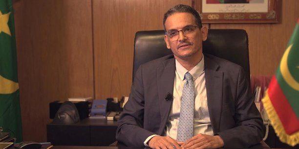 Aziz Ould Dahi, ministre de l'Economie et de l'industrie