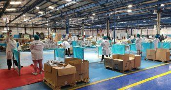 usine fabrication masque maroc