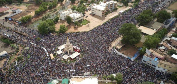 vendredi 19 juin à Bamako, manifestation monstre pour le départ du président IBK
