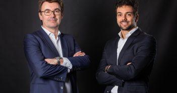 De gauche à droite, Jérôme Deshaie et Albert Porcheret, fondateurs d'Arneo