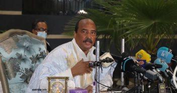 Mohamed ould Abdelaziz, ex président de Mauritanie