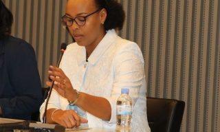 Aurore Mimosa Munyangaju, ministre rwandais des Sports