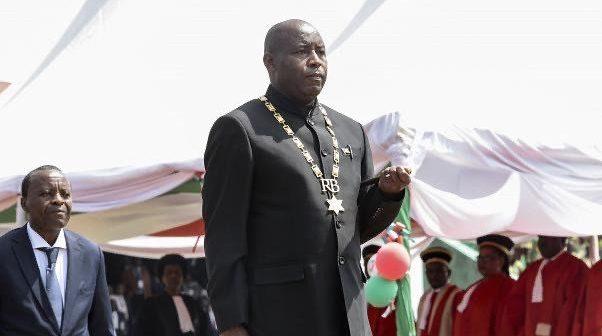 Évariste Ndayishimiye, Président de la république du Burundi