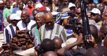 Le Président du Burkina Faso, Roch Marc Christian Kaboré, lors du lancement des activités du Fonds national de la Finance inclusive.