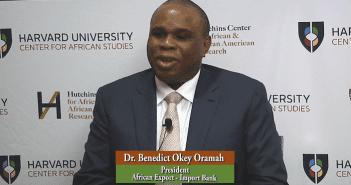 Benedict O. Oramah, Président Afreximbank