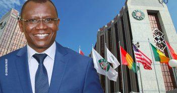 Sani Yaya, le ministre togolais de l'Économie et des Finances