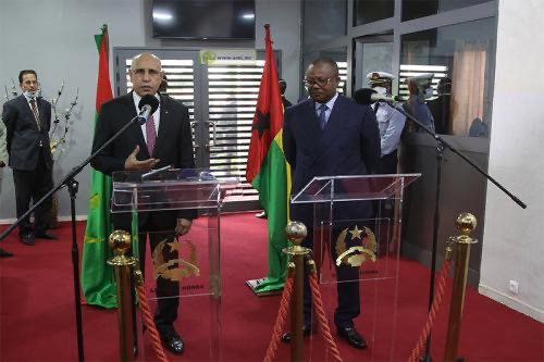 rencontre mauritanie guinee