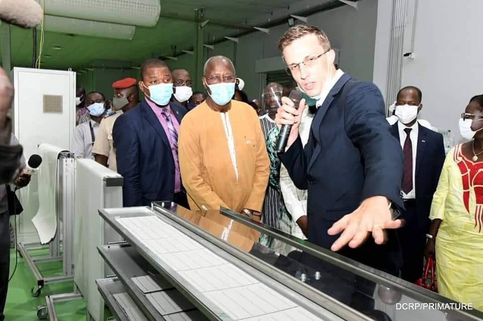 Inauguration de l'usine Faso Energy
