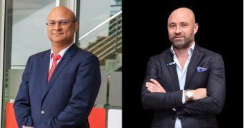 Le PDG et Directeur Général d'Airtel, Apoorva Mehrotra, et Todd Ashton, vice-président et Directeur d'Ericsson Afrique de l'Est et du Sud.