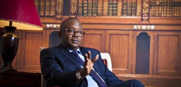 Le Président de la Guinée Bissau, Umaro Sissoco Embaló