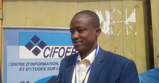Le directeur exécutif du CIFOEB, Youssouf Ouattara