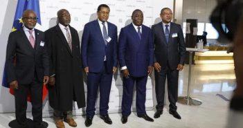 Cémac, ministres des Finances
