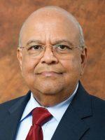 Pravin Gordhan, ministre des Entreprises publiques d'Afrique du Sud