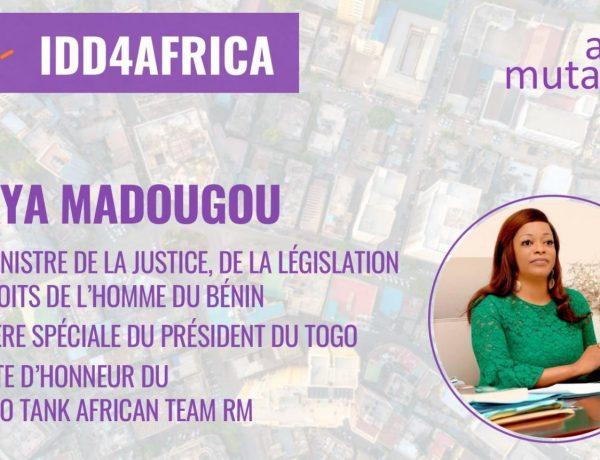 #IDD4AFRICA – Reckya Madougou, Plaidoyer pour plus d'inclusivité pour l'Afrique !!!