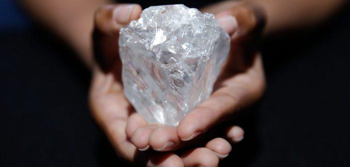 diamant, botswana