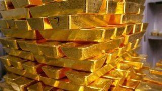 Lingots d'or issus de la mine de Tasiast