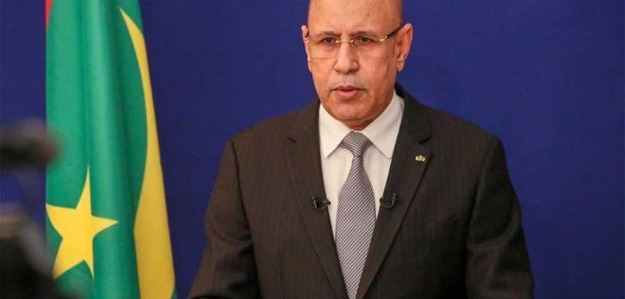 Mohamed Cheikh Ould Ghazouani, le Président mauritanien